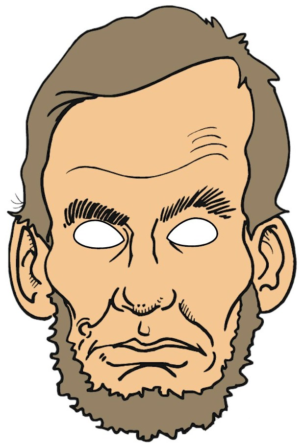 Abraham Lincoln Puppet Mask – Abraham Lincoln Worksheet