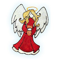 Window Cling Angel