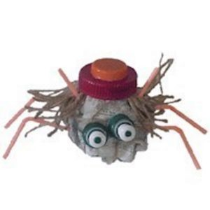 Litter Bug made from recycled trash