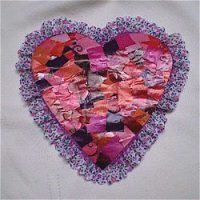 Image of Recycled Valentine Magnet