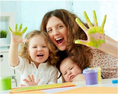 Make Your Own Non Toxic Finger Paint Project