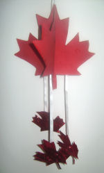 Image of Canadian Maple Leaf Mobile