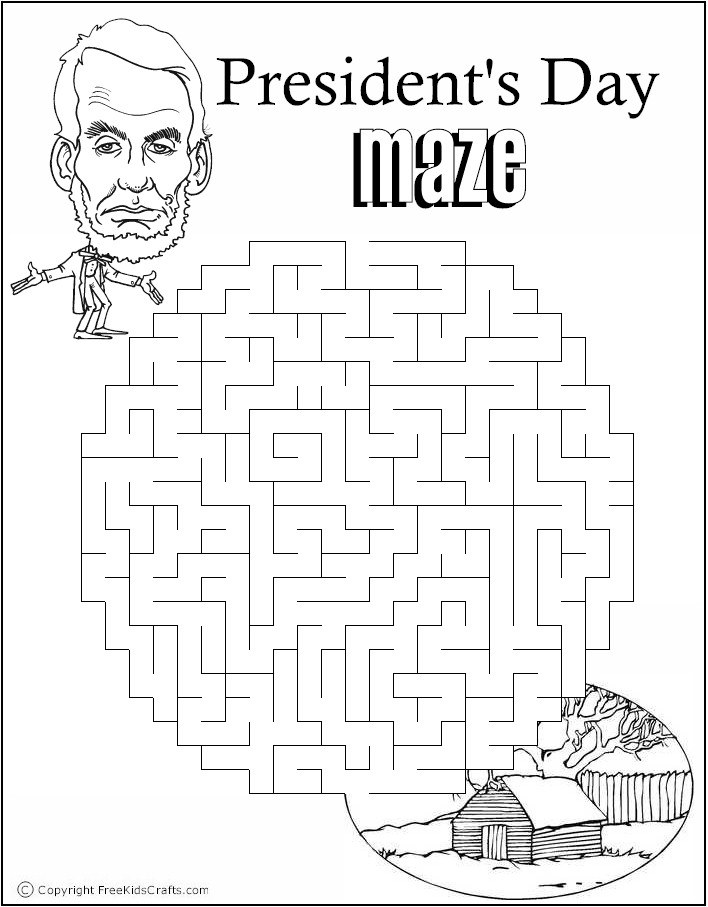 Printable President's Day Word Puzzles