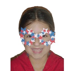 Red White and Blue Parade Glasses