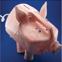 Image of Milk Jug Piggy Bank