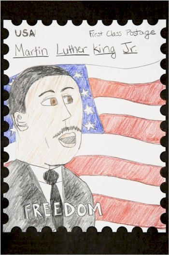 Make A Commemorative MLK Stamp