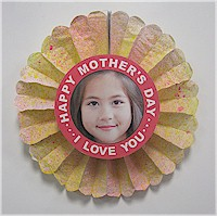 Image of Mothers Day Flower Photo Card