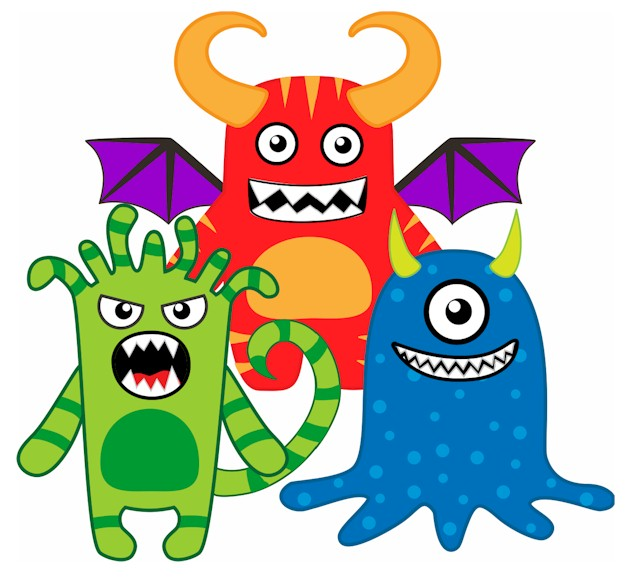 Image of Monster Printables