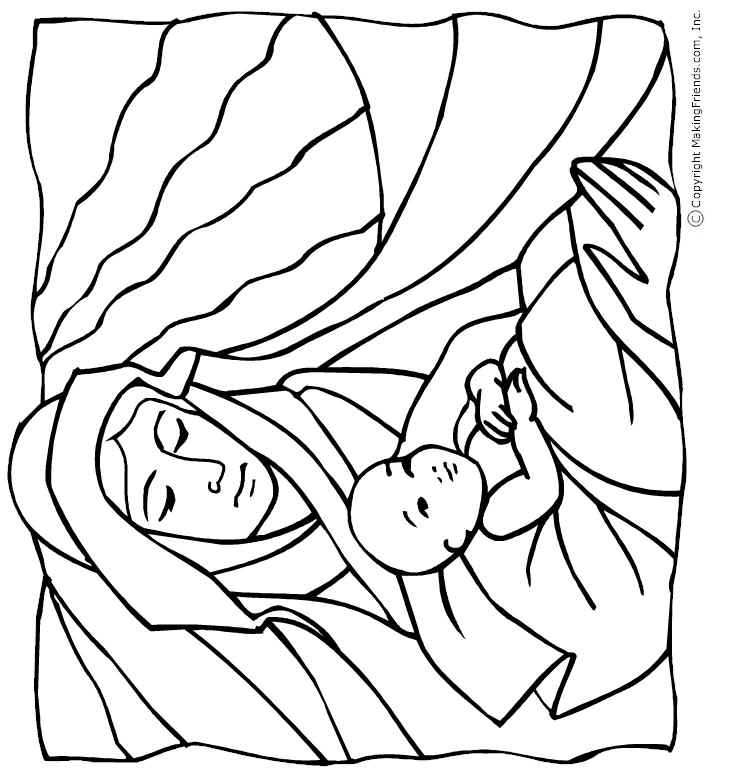 mother-child-coloring-page