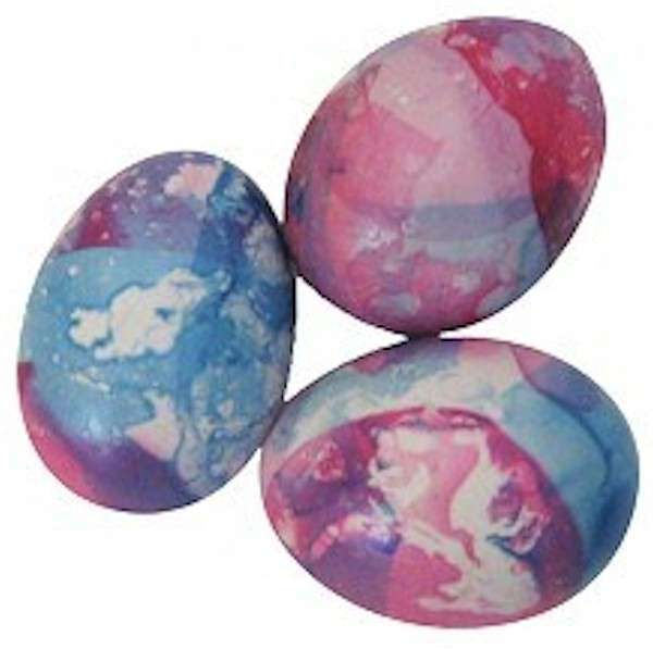 Nail Polish Stained Glass Eggs