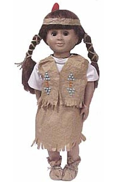 Image of Native American Doll Clothing