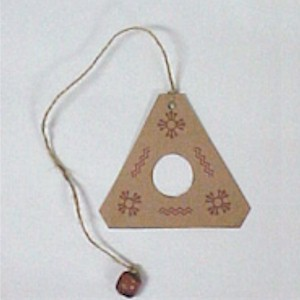 Native American Ball And Triangle Game