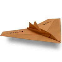 Image of Space Shuttle Paper Airplane