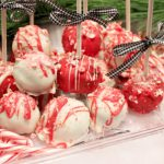 No Bake Christmas Cake Pops