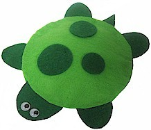Image of No Sew Felt Turtle Bean Bag