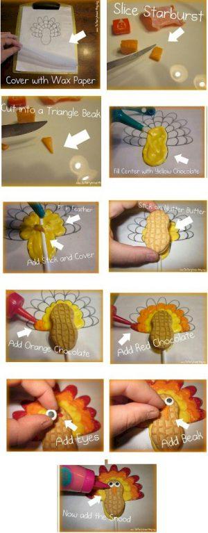 Image of Nutter Butter Turkey Pops