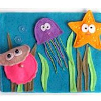 Image of Ocean Creatures Finger Puppets