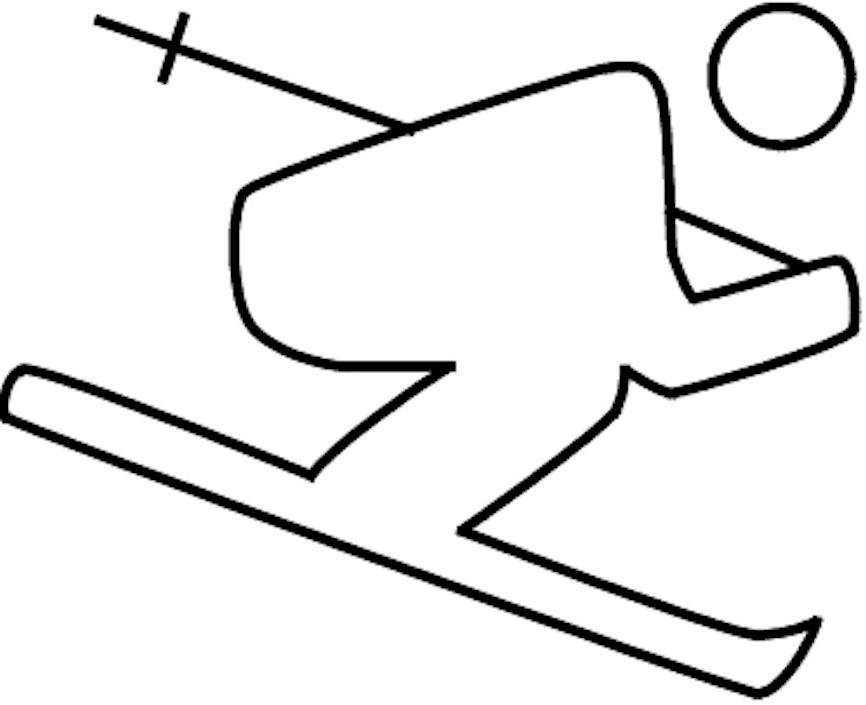 olympic-skier-pattern