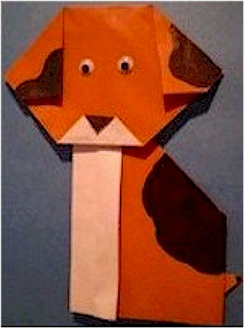 Image of Origami Spotted Puppy