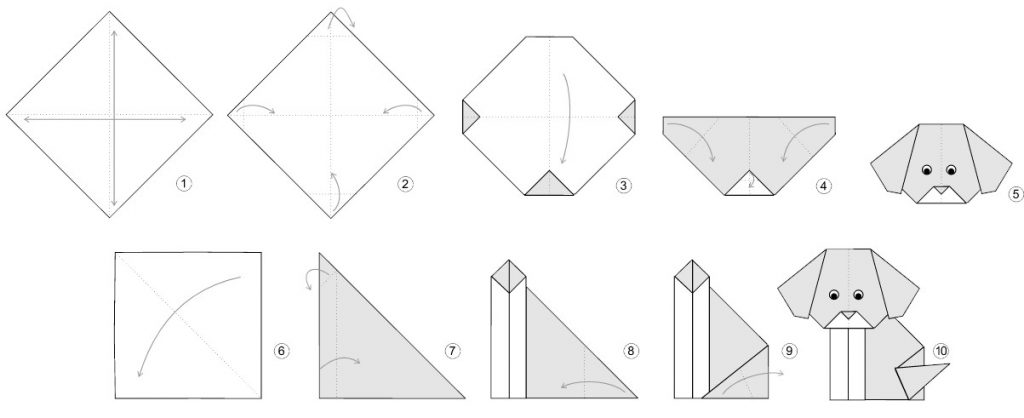 origami-spotted-puppy-instructions