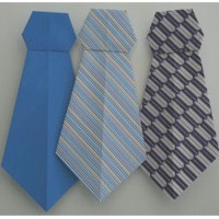 Image of Fathers Day Origami Tie