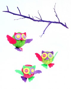 Image of Fun and Fluffy Felt Owl