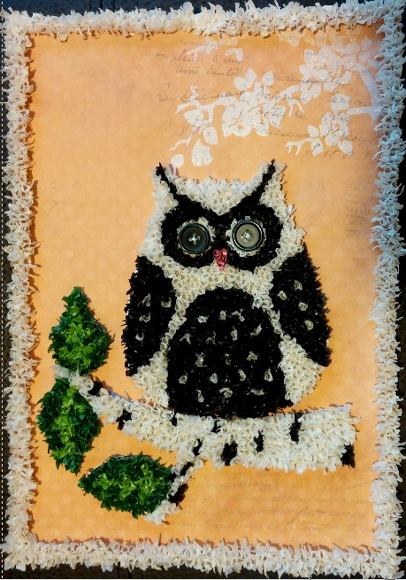 Image of Bean Mosaic Owl