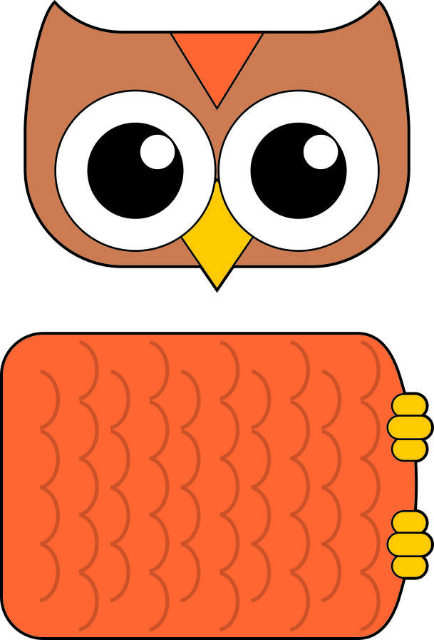 graphic regarding Free Printable Paper Bag Puppet Templates named Paper Bag Owl Puppet