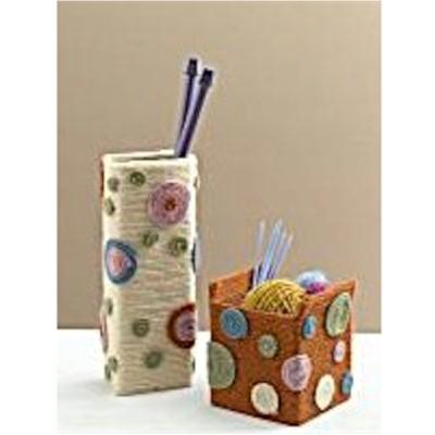 Paper Box Vases