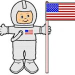 Playtime Astronaut Paper Doll