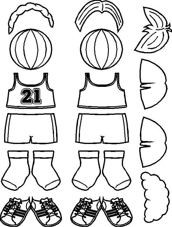 paper-doll-basketball-clothes-bw-rev