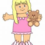 Playtime Bedtime Paper Doll
