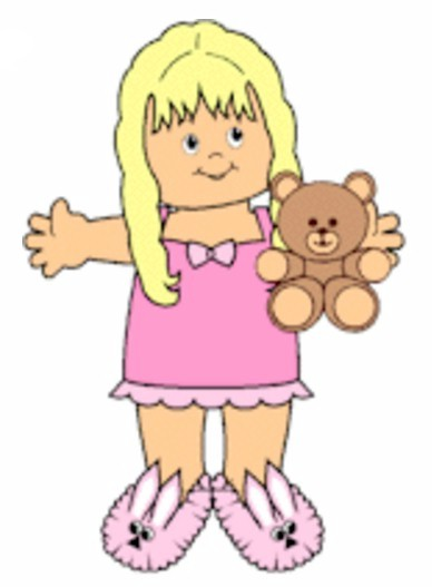Image of Playtime Bedtime Paper Doll