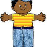 Denim Playtime Paper Doll