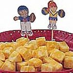 Playtime Football Snack Toothpicks