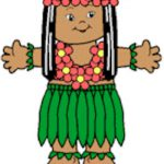 Playtime Pacific Islands Paper Doll