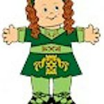 Playtime Irish Step Dancing Paper Doll