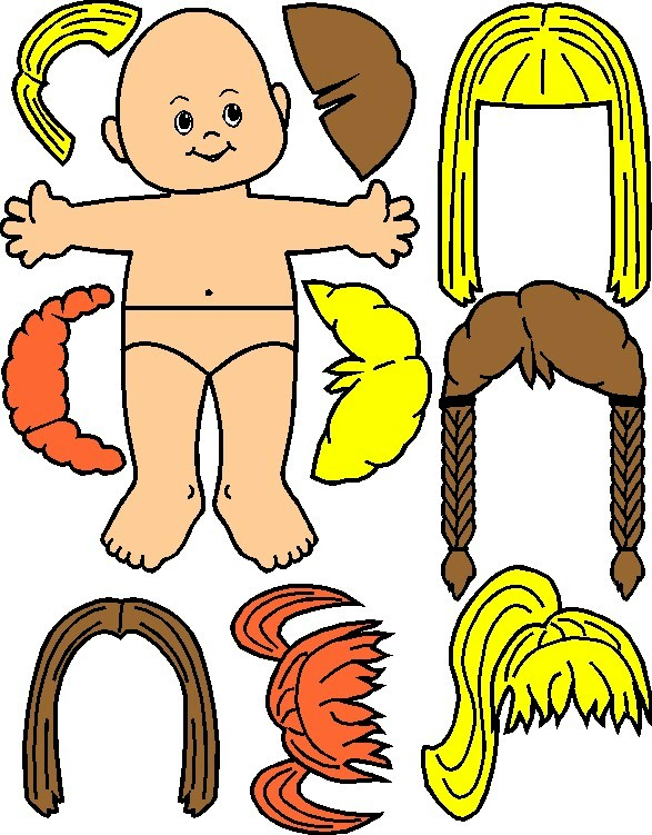 Image of Playtime Magi Paper Dolls
