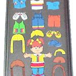 Magnetic Playtime Paper Doll Travel Fun