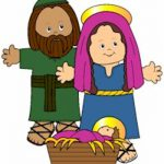 Playtime Nativity Paper Dolls