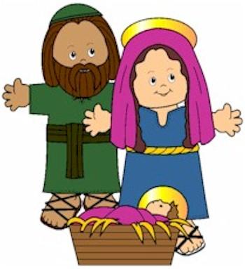 Playtime Nativity Paper Dolls