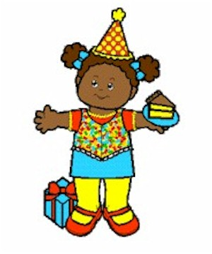Playtime Party Paper Doll