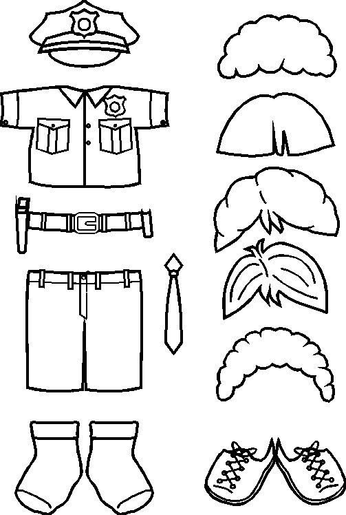 paper-doll-police-officer-clothes-bw