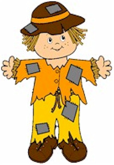 Image of Playtime Paper Doll Scarecrow