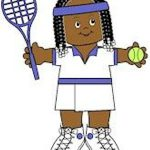 Playtime Tennis Paper Doll