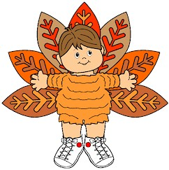 Image of Playtime Turkey Paper Doll
