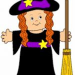 Playtime Paper Doll Witch
