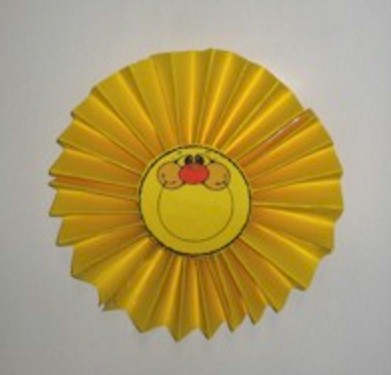 Image of Paper Fan Sun