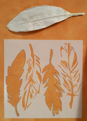 Image of Paper Feather Craft
