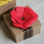 Paper Flower Gift Box Decoration